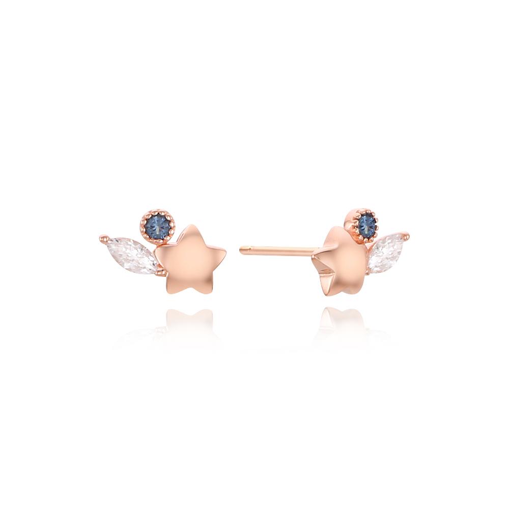 [Silver925] 은하수별빛 귀걸이