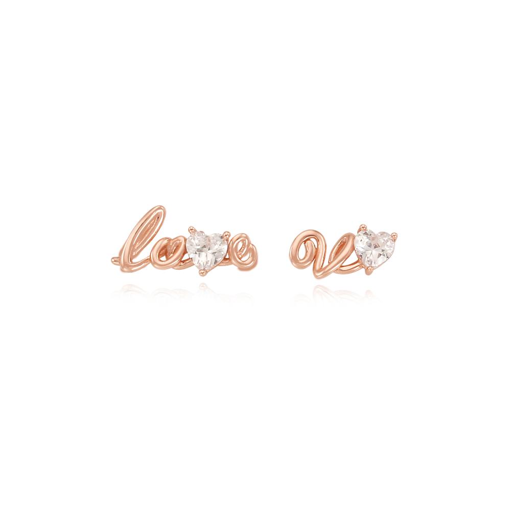 [Silver925] 러브유 귀걸이