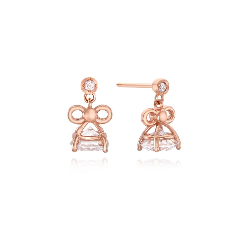 [14k gold] 벨씨씨봉 귀걸이